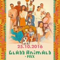 Tour poster Glass Animals How to be a Human Being