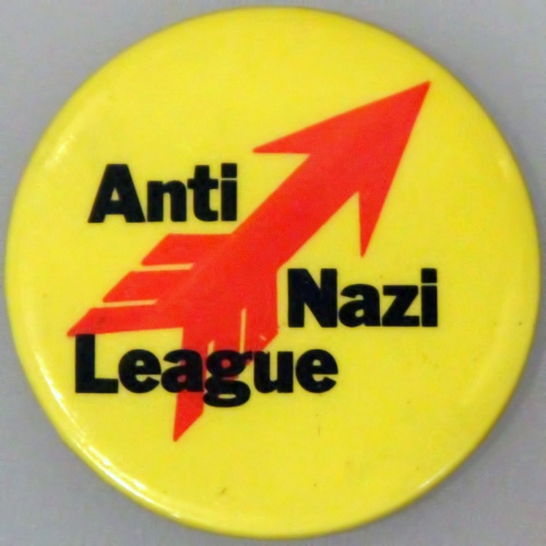 Anti-Nazi League badge David King