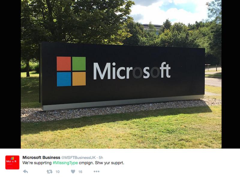 Microsoft NHS Missing Type