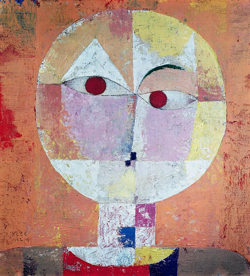 Image credit: Senecio, 1922 (oil on chalk primer on gauze on cardboard), Paul Klee (1879-1940) / Kunstmuseum, Basel, Switzerland / Bridgeman Images