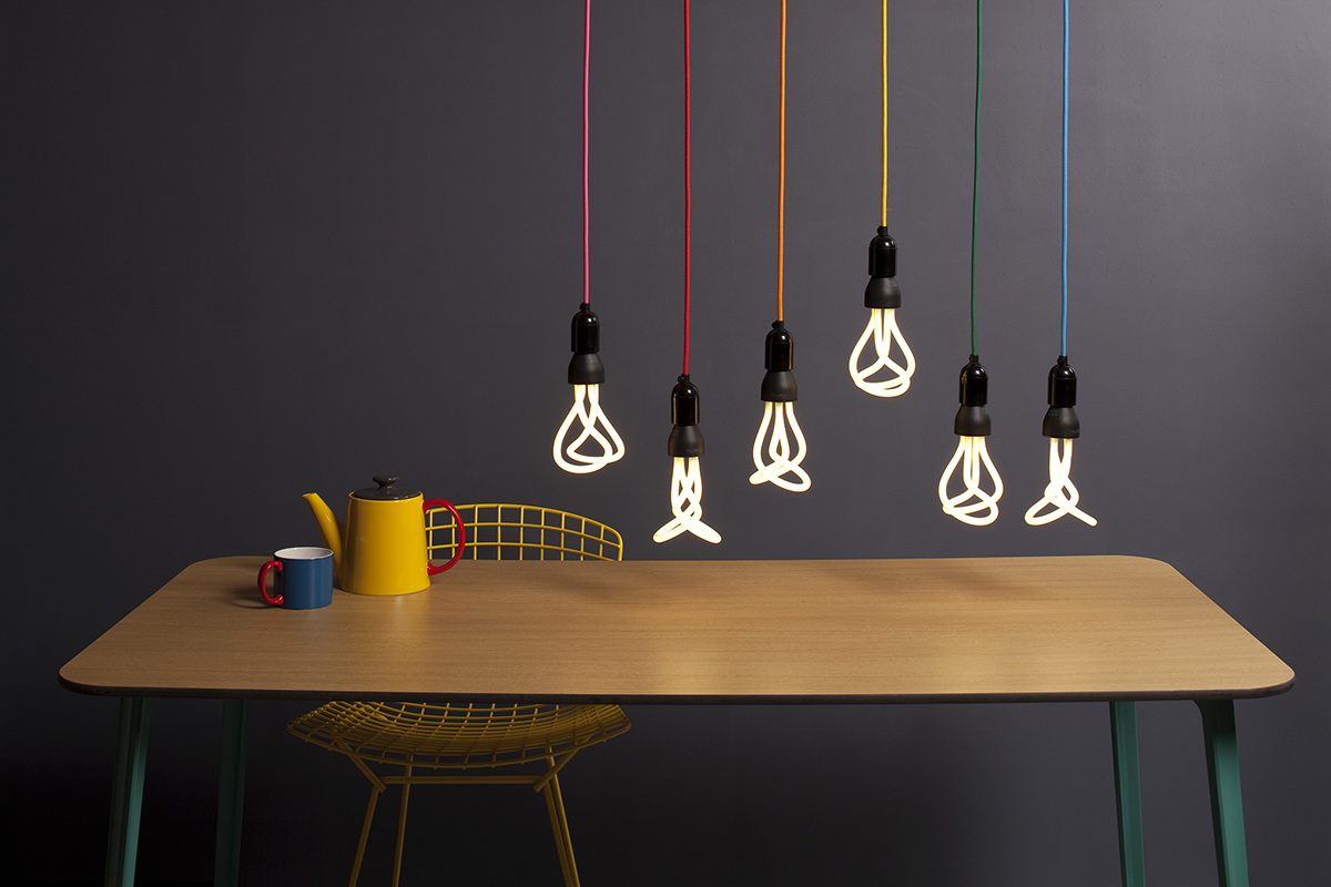 Plumen light bulbs which were financed by equity crowdfunding