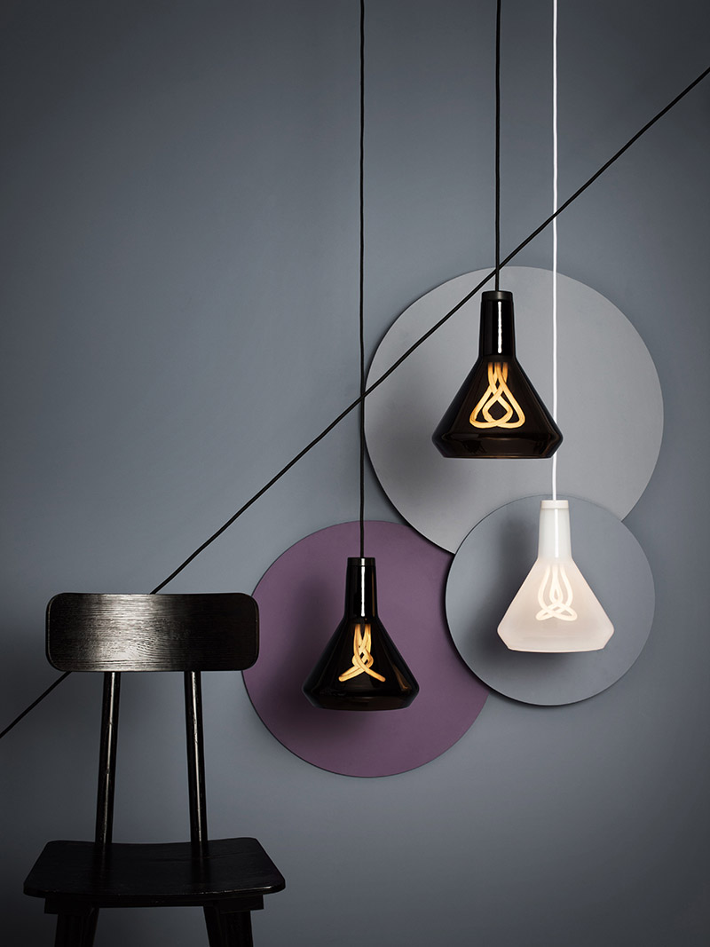 Drop Top glass lampshades financed by equity crowdfunding