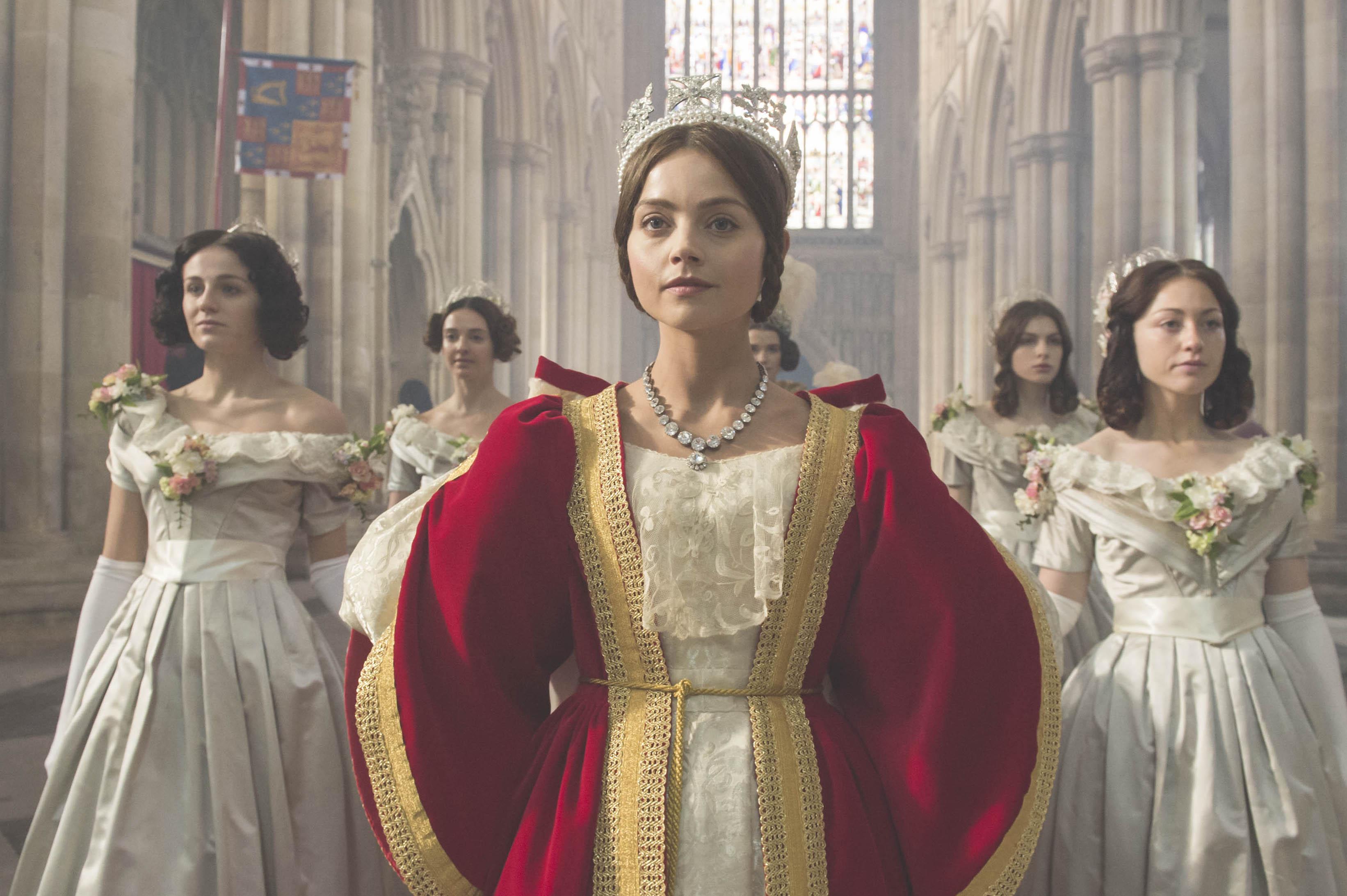 Jenna Coleman as Victoria (C) ITV Plc