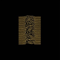Unknown Pleasures Christmas card for Oxfam by Peter Saville/Joy Division