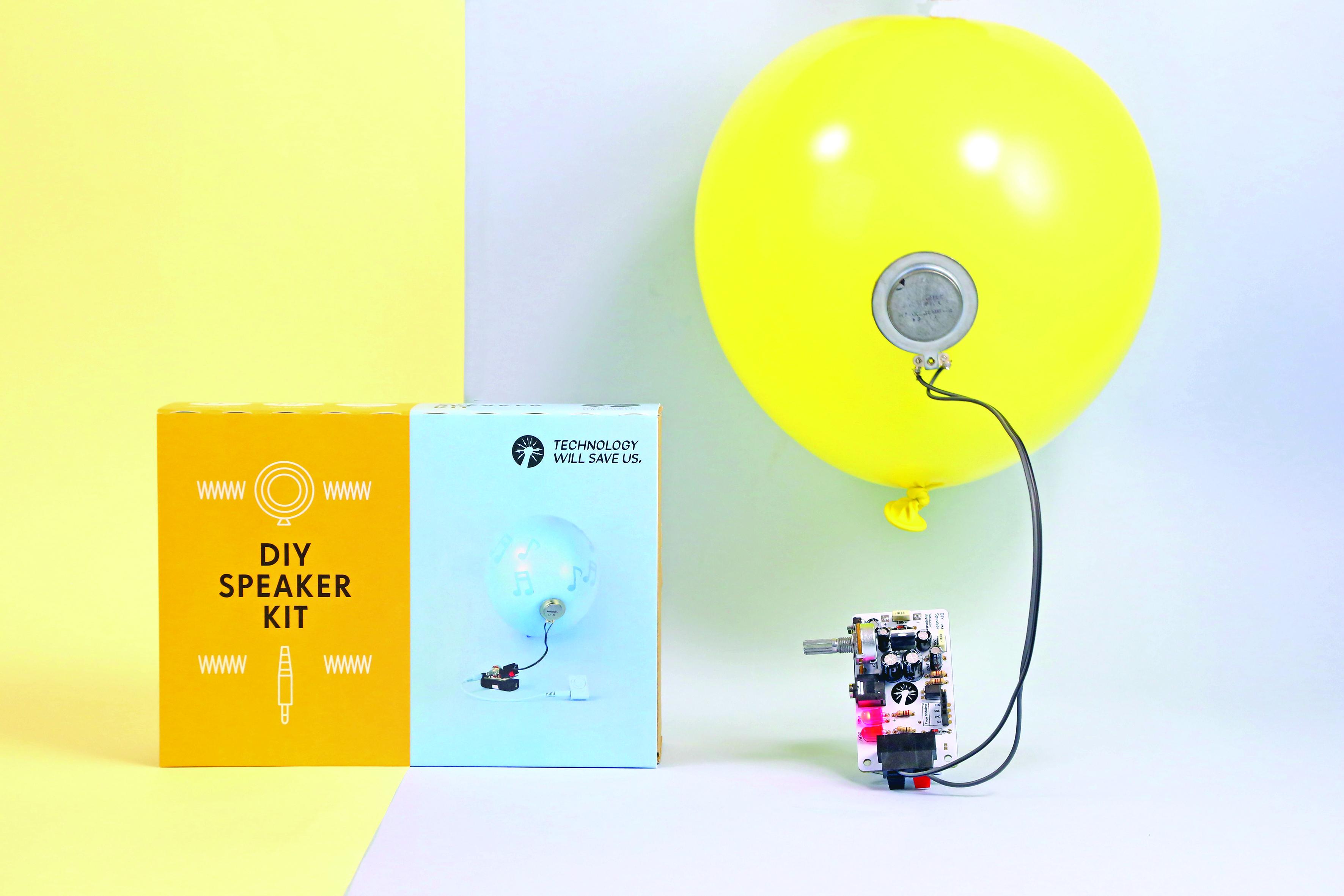 Technology Will Save Us's DIY Gamer Kit and Speaker Kit