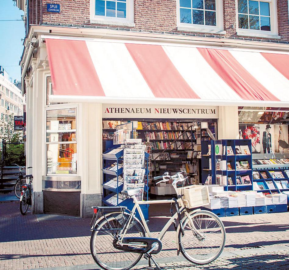 Athenaeum Nieuwscentrum magazine shop in Amsterdam
