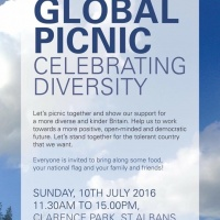 Global picnic: bringing all faces of the community back together after the vote