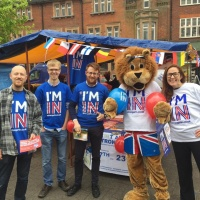 St Albans market stall: taking the party politics out and debating on the streets
