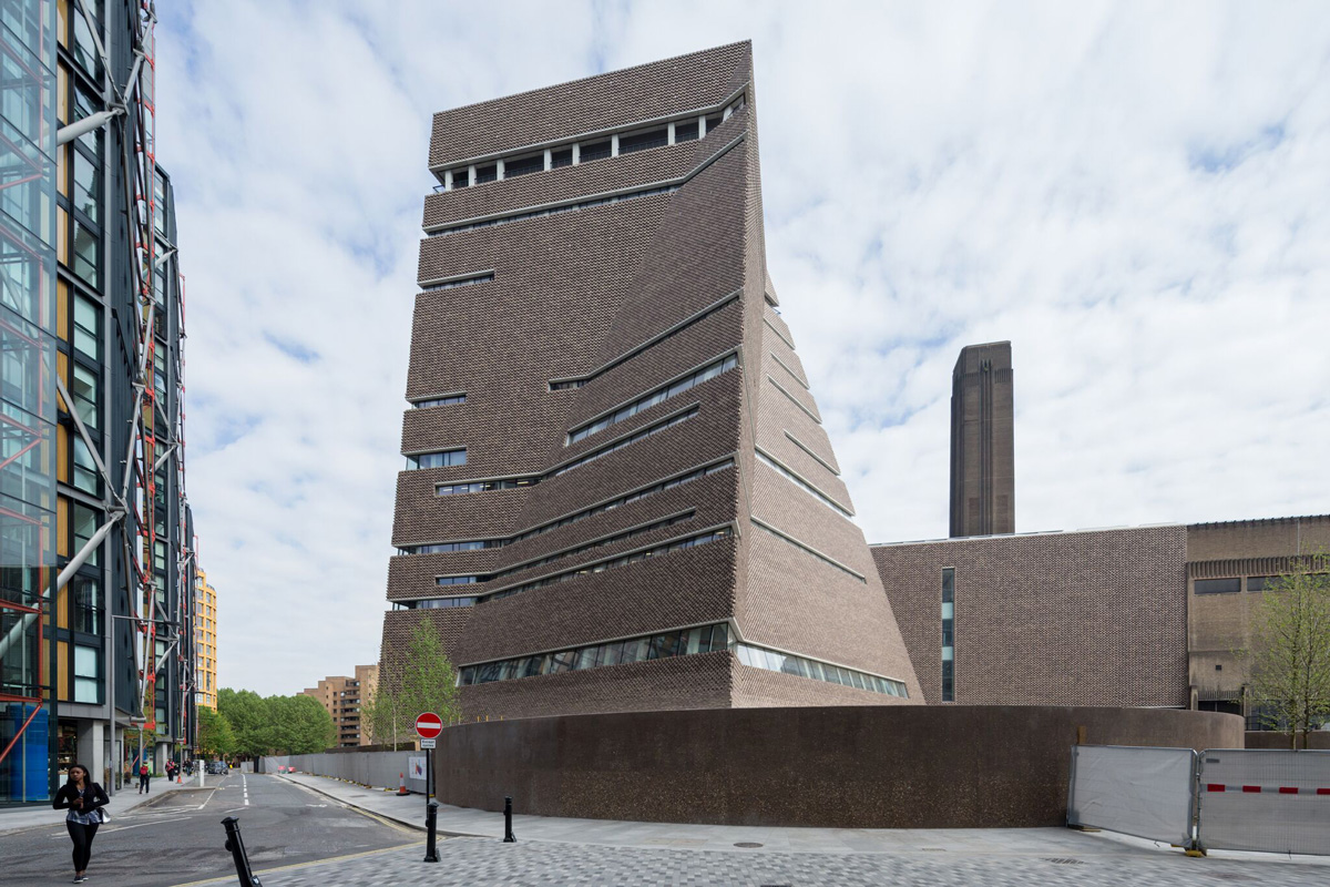 Herzog and De Meuron's Switch House extension for Tate Modern