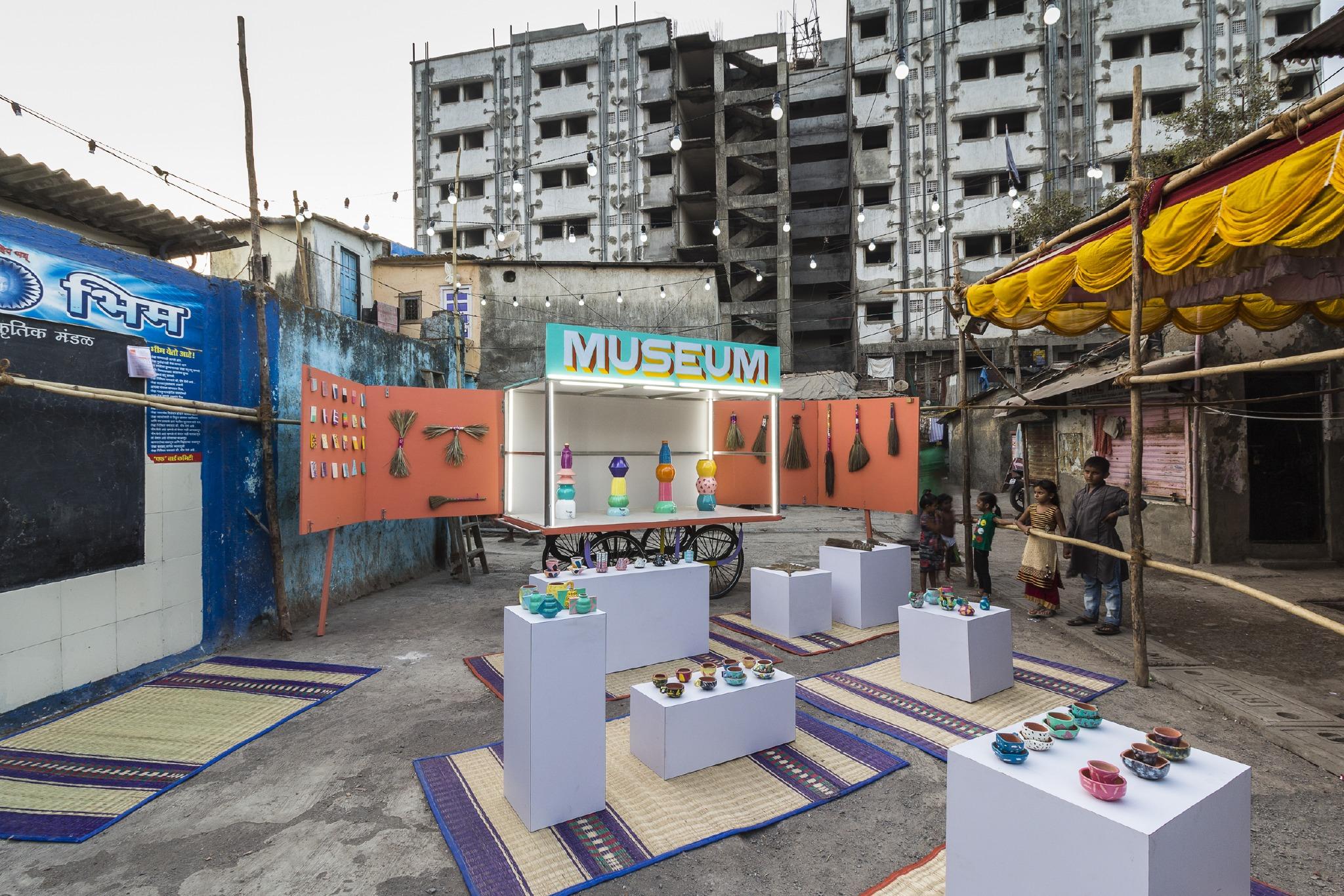 Design Museum Dharavi, a nomadic design museum in Mumbai created by Amanda Pinatih and Jorge Mañes Rubio