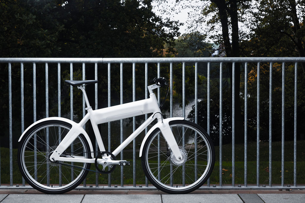OKO e-bike, an ultra-light bike designed by Lars Larsen, Bjarke Ingels and Jens Martin Skibsted