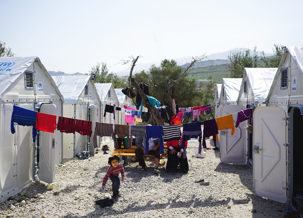 the better shelter a flatpack refugee shelter created in partnership with IKEA