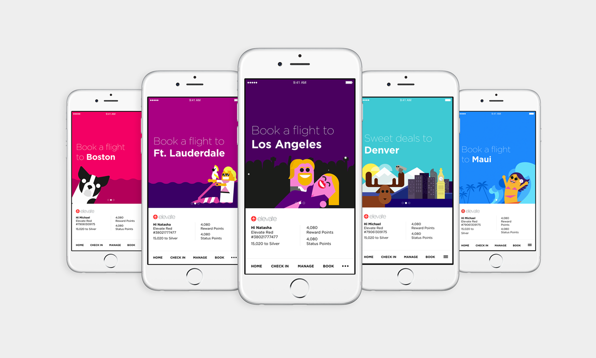Build And Work Co S New App For Virgin America