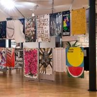 Graphic Design Festival Scotland's International Poster exhibition in 2015