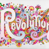 The Beatles Illustrated Lyrics, 'Revolution' 1968 by Alan Aldridge.