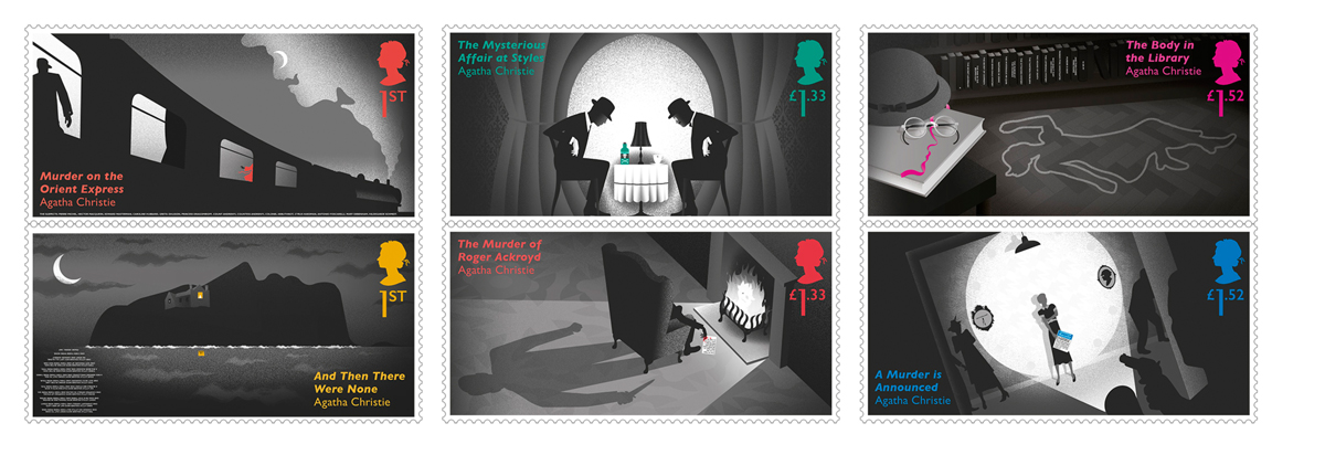 Agatha Christie Royal Mail