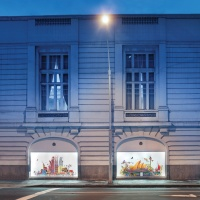Window displays for the Belmond Copacabana Palace hotel in Rio by Kristjana S Williams