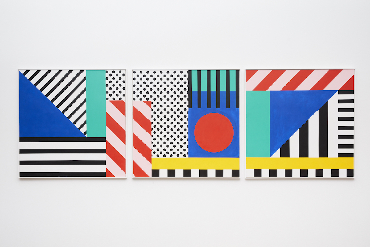 Camille Walala bold graphic prints
