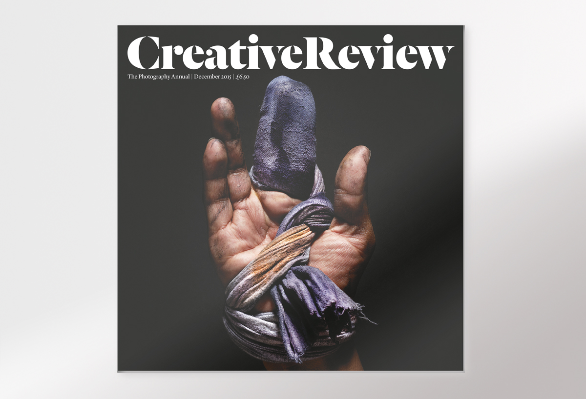 The 2015 Creative Review Photography Annual. Cover image from a series by Christopher Griffith for the New York Times