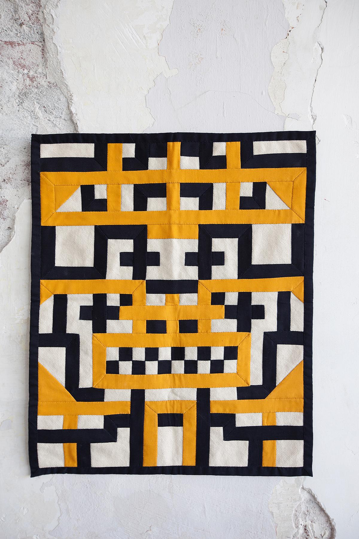 Kheyameya wall hanging by Damien Poulain. Image: Renee Arns