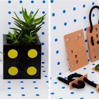 Darkroom's new products include planters, ceramics and chopping boards with designs inspired by brick and metalwork