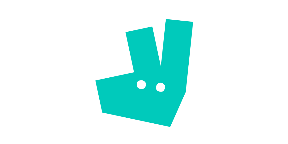 A minimal kangaroo symbol replaces the company's previous logo - an image of a kangaroo holding a bag of food against a teal backdrop