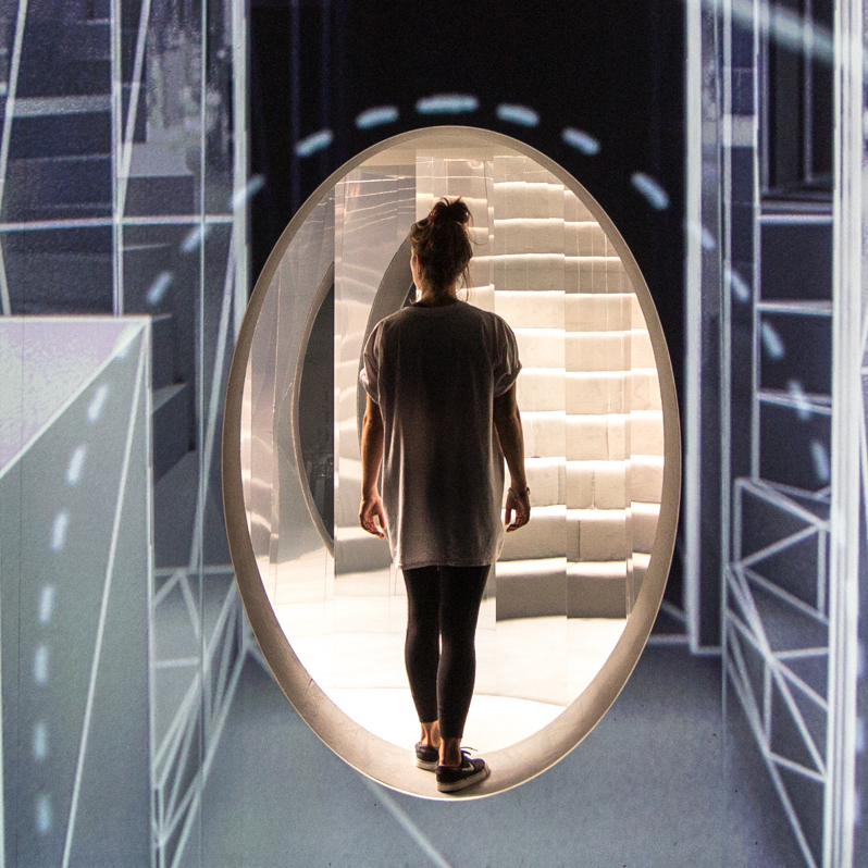 Es Devlin On Her Mirror Maze Installation For Chanel And I D
