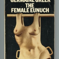 Cover of The Female Eunuch (Paladin, 1971; orig. published 1970). Illustration by John Holmes