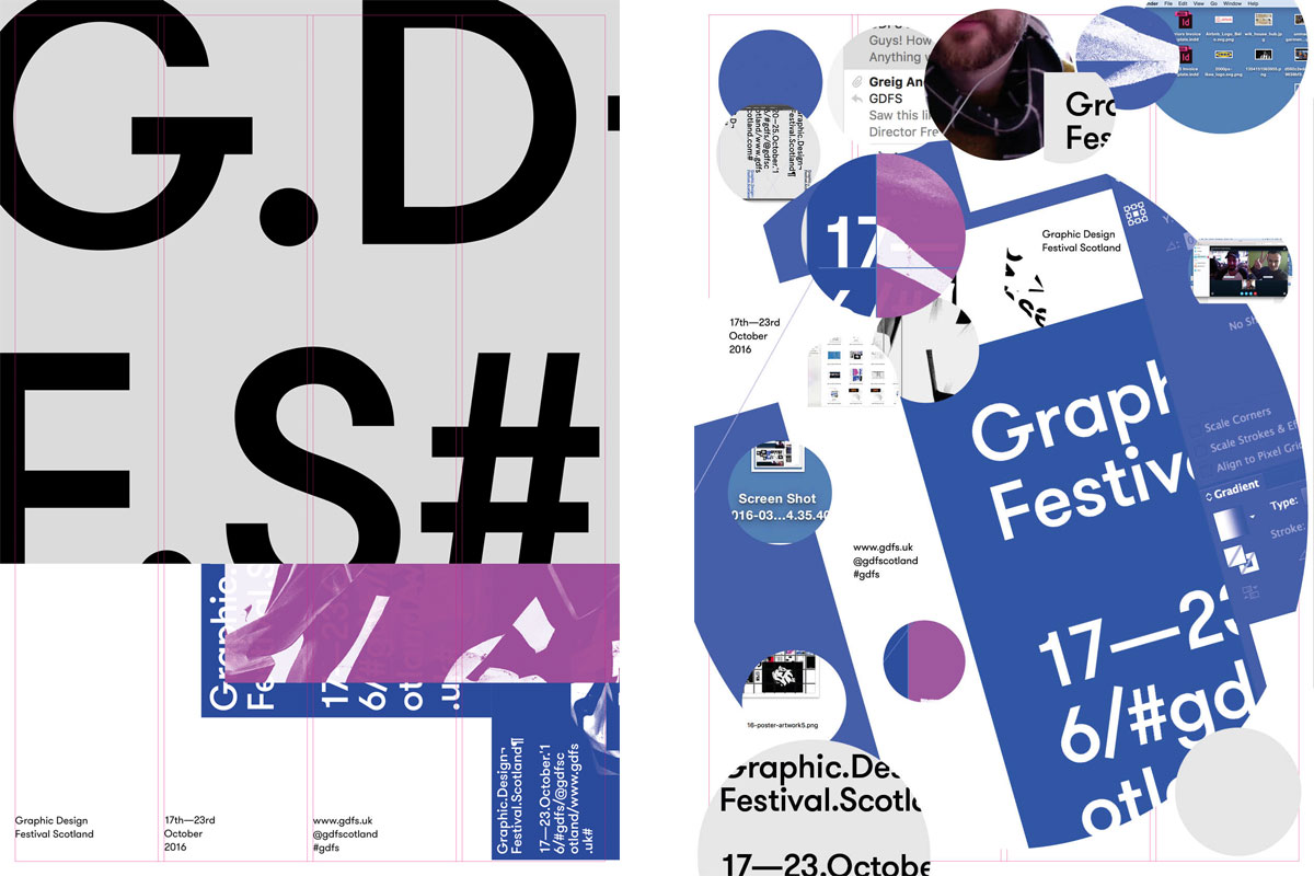 GDFS 2016 posters by Warriors Studio & Freytag Anderson (left), and Ilya Ilyukhin