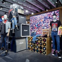 Levi's teamed up with Soho record store Sister Ray to launch a pop-up shop in its Regent Street branch