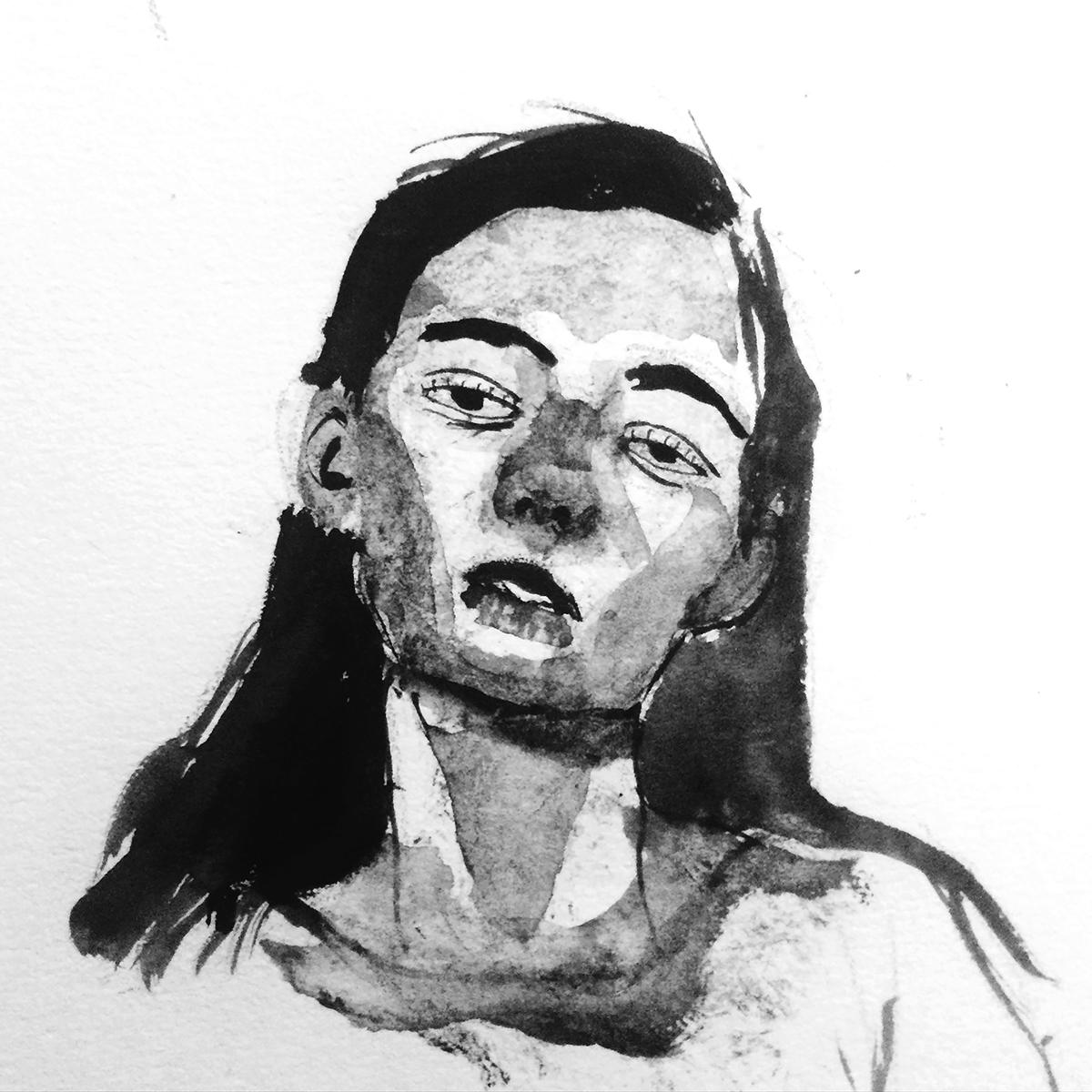 Self-portrait by Michael Skeet