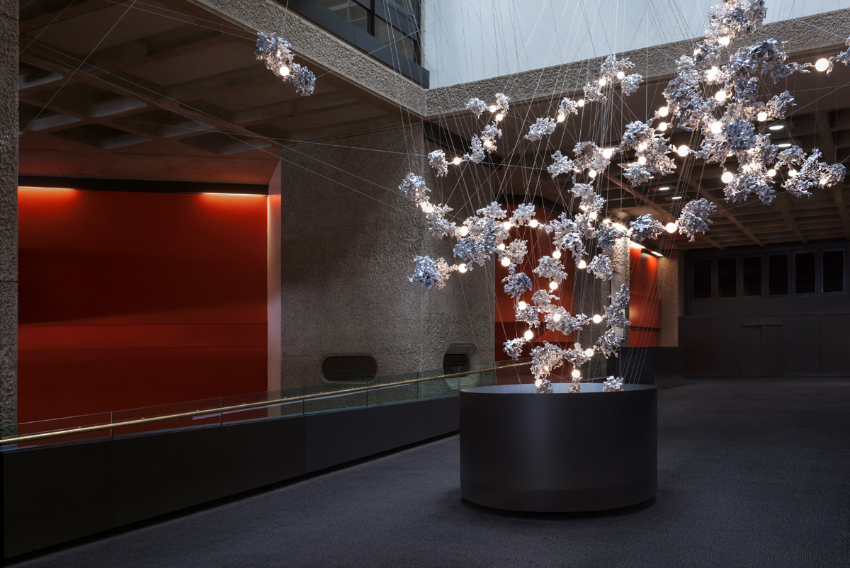 Omer Arbel S 44 Installation For The Barbican S Lightwell