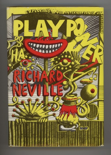 Cover of Play Power (Jonathan Cape, 1970). Jacket design by Martin Sharp