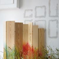 Herringbone furniture by Raw Edges, meadow by Jacques Nimki
