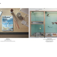 A copy of Wallpaper magazine on Jony Ive's desk and in Carsten Holler's birdcage at his Stockholm home, photographed by Elizabeth Toll for the magazine's new Subscriber Since... feature