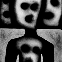 photograph by Roger Ballen