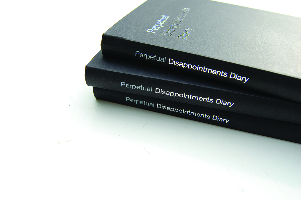 A diary is usually motivational – so what if it was demotivational? Asbury & Asbury's Perpetual Disappointments Diary provides a neat, if downbeat, spin on the traditional week-to-view.