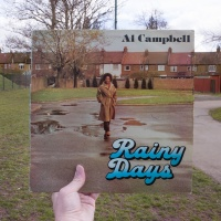 Al Campbell, Rainy Days (Hawkeye, 1978), rephotographed in King Edward VII Park, London NW10, 38 years later. Photos © 2016 Alex Bartsch, courtesy One Love Books