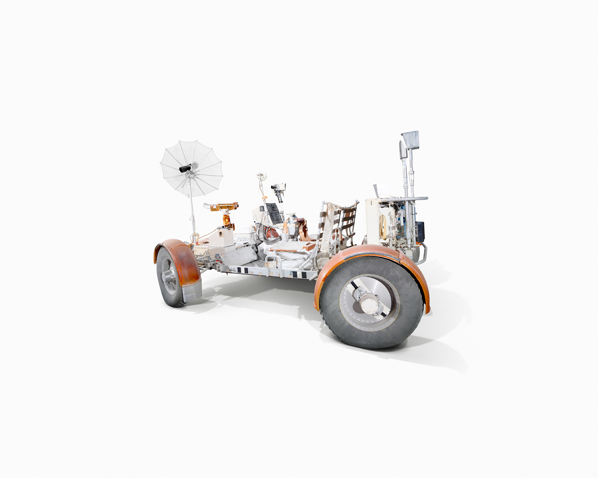 Lunar Rover training vehicle. Wired UK/Benedict Redgrove