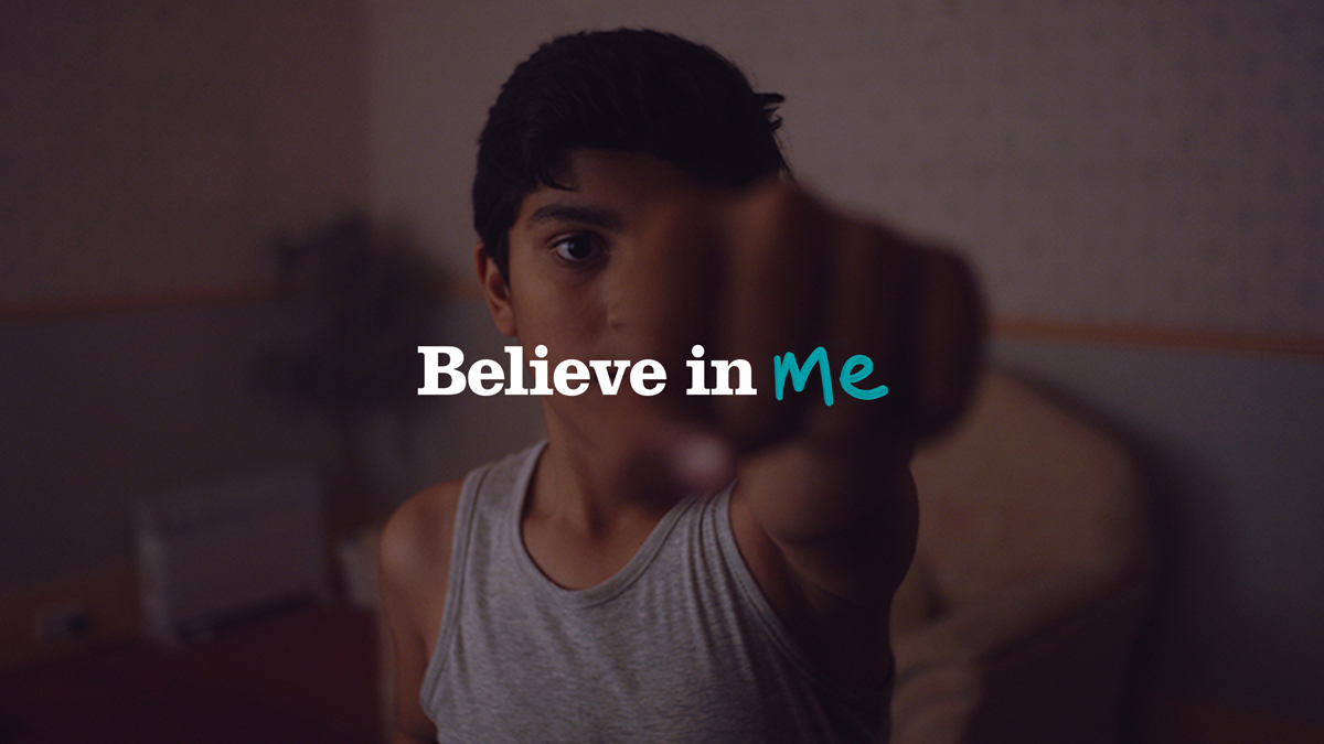Barnardo's Believe in Me ad