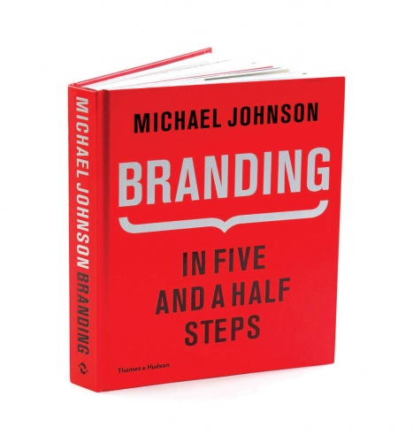 A book on branding by Michael Johnson
