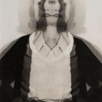 Erwin Blumenfeld, Double Exposure, 1932, Silver Gelatin Print, Courtesy Osborne Samuel