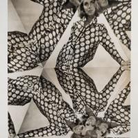 Erwin Blumenfeld, Kaleidoscope for Dayton's Oval Room, New York, 1964, Silver Gelatin Print, Osborne Samuel