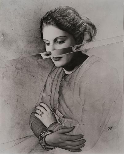 Erwin Blumenfeld, Madeleine Sologne,1937, Paris, Silver Gelatin Print, Courtesy Osborne Samuel