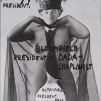 Erwin Blumenfeld, Self-portrait with collage, Amsterdam, 1921. Mixed media. Courtesy Osborne Samuel