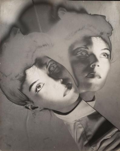 Erwin Blumenfeld, Solarized Model, New York, 1942, Silver Gelatin Print, Courtesy Osborne Samuel