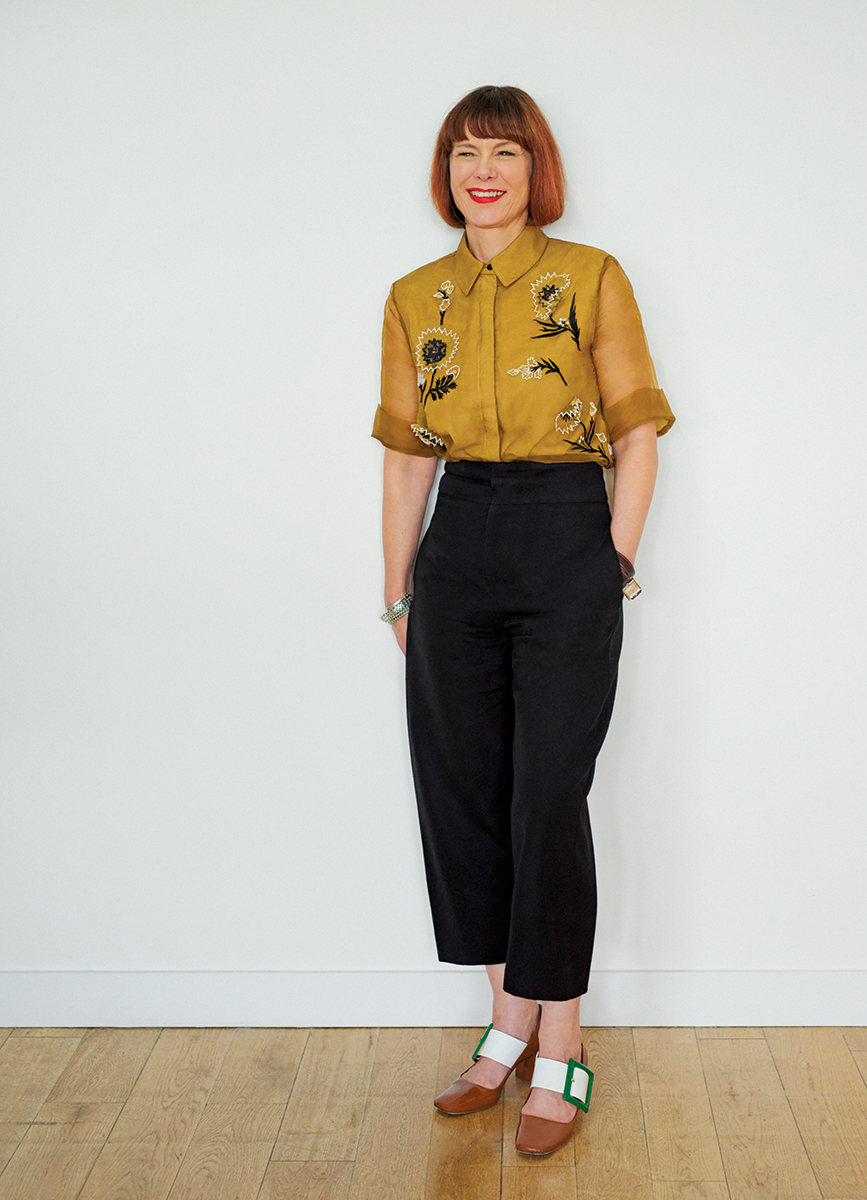 Finery London co-founder Caren Downie