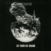 Peter Kennard's photomontage for Kate Tempest album Let Them Eat Chaos combines a NASA image of the earth with one of an explosion