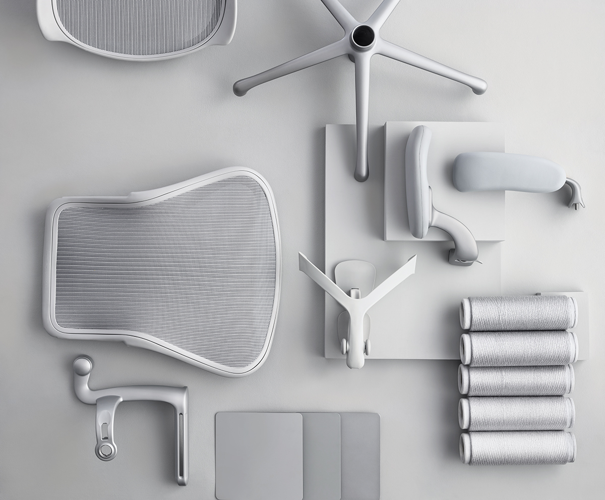 First Look Herman Miller Has Redesigned The Aeron Chair
