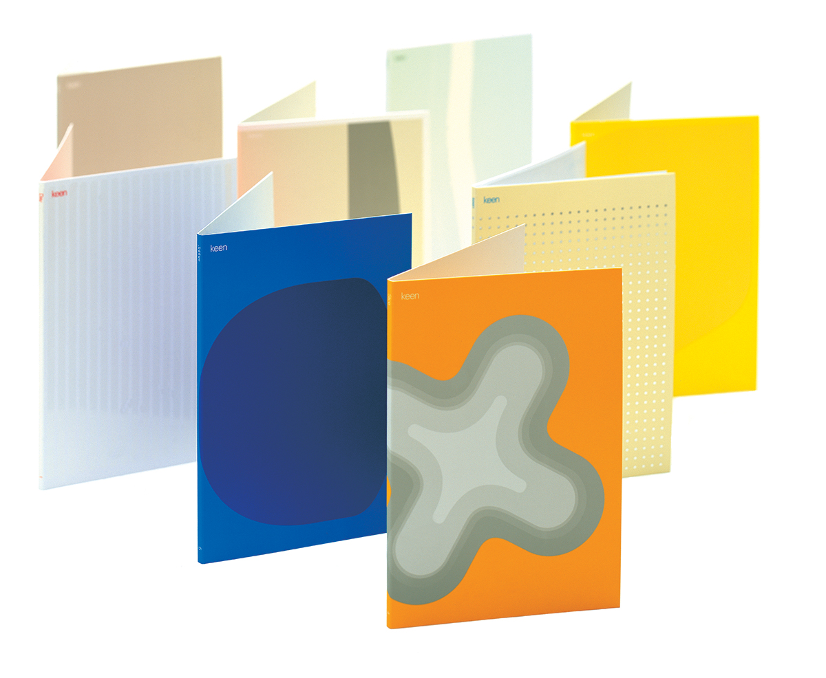 Booklets for furniture company Keen